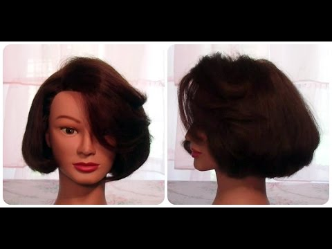 how to cut hair bob style how to cut hair so it curls with no heat cut 4199 | hqdefault