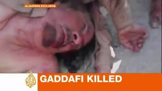 Muammar Gaddafi is dead!