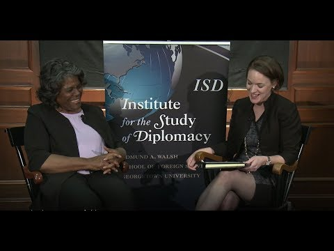 Diverse Diplomacy Leaders series with Ambassador Linda Thomas-Greenfield