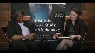 Diverse Diplomacy Leaders series with Ambassador Linda Thomas-Greenfield