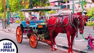 Gambar cover Lagu Anak Naik Delman Istimewa Naik Kuda Odong Odong Lagu Anak Populer - Kids Ride Horse Carriage