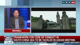 Hague ruling an 'integral' factor in S.China Sea code: analyst thumbnail