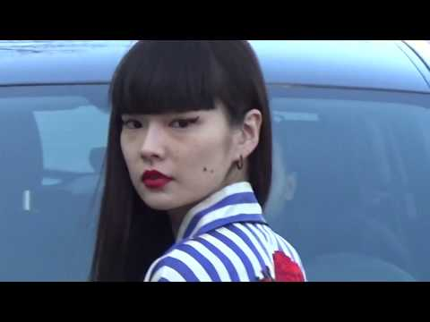 Kozue AKIMOTO 秋元梢 @ Paris 19 january 2017 Fashion Week show Off-White #PFW