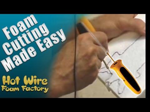 Foam Cutting: Hot Knife