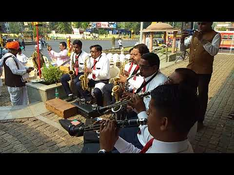 Jai Jai Maharashtra Maza Song by Chhaya Kala Circle Brass Band