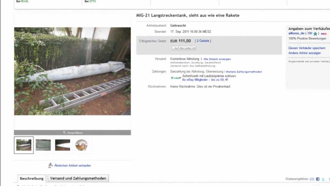 Unglaublich Die Verrucktesten Ebay Artikel Der Welt Youtube