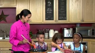 Making Texas Twisted Tostadas with Chef V