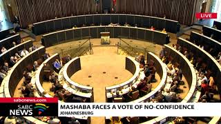 ANC motion of no confidence bid against Joburg Mayor Herman Mashaba