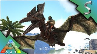 PTERANODON TAMING & WYVERN ATTACK! - Ark: Survival Evolved [S4E42]