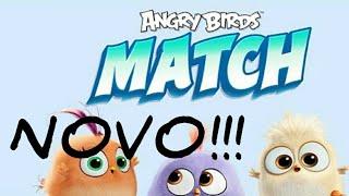 SAIU!!! NOVO JOGO PARA ANDROID ANGRY BIRDS MATCH