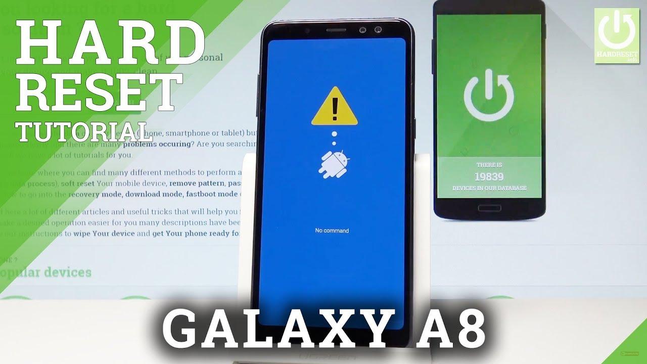 Hard Reset SAMSUNG Galaxy A7 (2018) - HardReset info