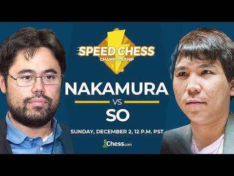 2018 Speed Chess Championship Finals: Nakamura vs So