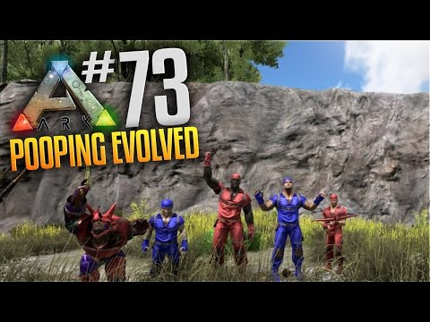ARK Survival Evolved Tribes Gameplay - S3 Ep 73 - 3v3 Tranq PVP