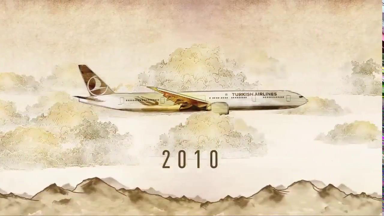 Türk Hava Yolları 85 yıldır gökyüzünde