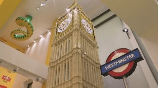 First look: World's largest LEGO store opens in London's Leicester Square