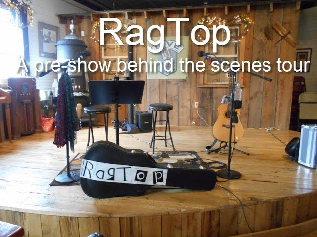 RagTop Pre Show Tour at The Merc