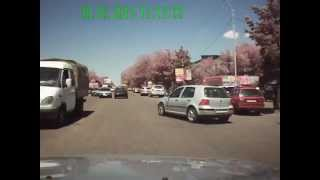 Шымкентское чудо беспредельничает в Алматы.AVI
