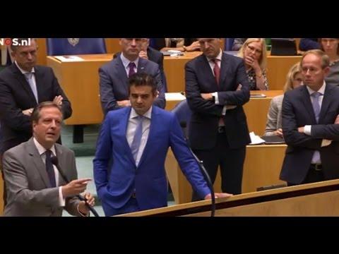 Rutte uitgejoeld door Kamer - 'Premier gaat hier af als een gieter'