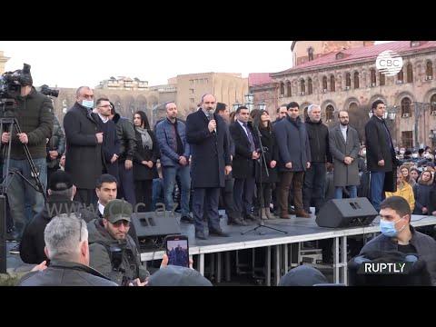 Сторонники оппозиции собрались на новый митинг у стен правительства в Ереване