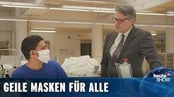Mit Mundschutzmasken lässt sich jetzt Kohle verdienen (Ralf Kabelka) | heute-show vom 24.04.2020