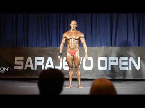 Aleksandar Vasiljević - Sarajevo Open 2017 - Bodybuilding -100kg