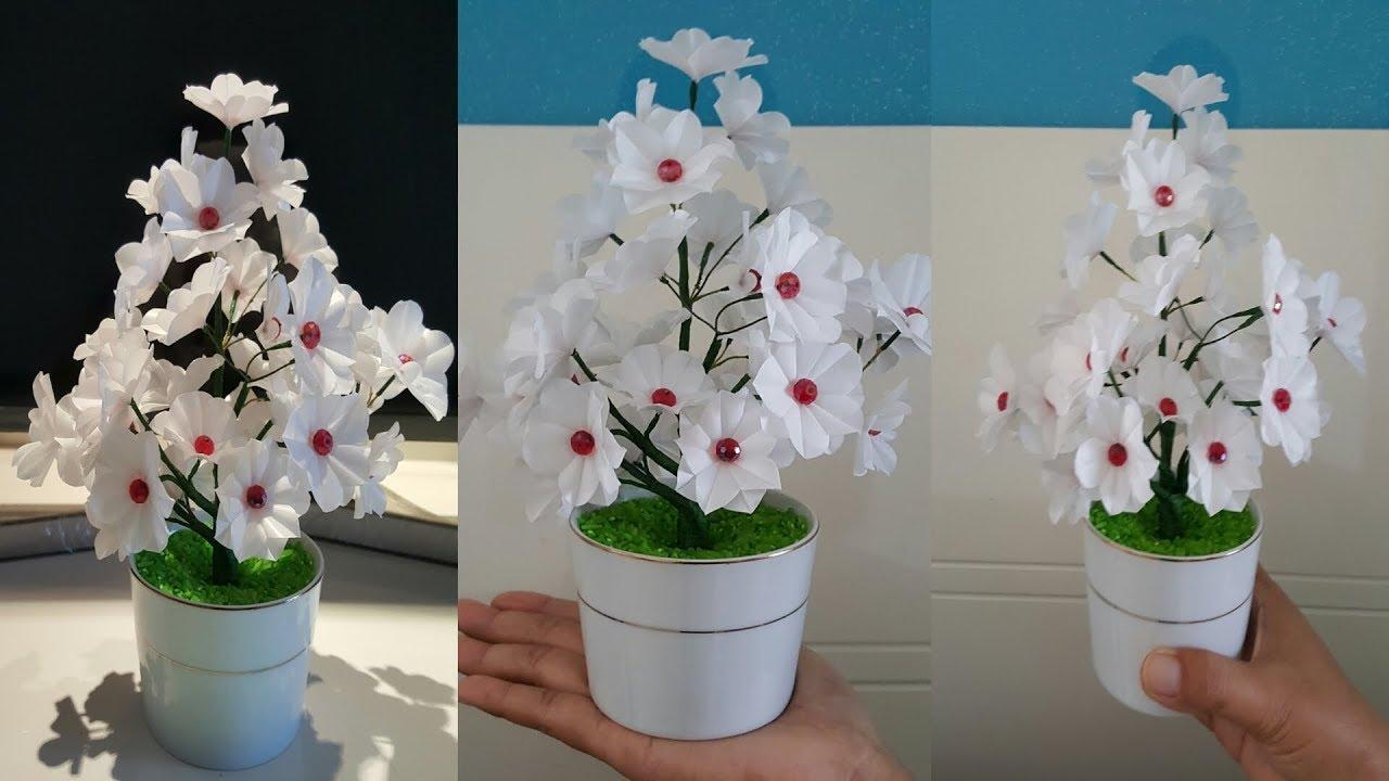 Cara Membuat Bunga cantik dari Kantong plastik Kresek  af6a90ca4d