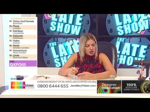 Fire Opal and Ruby, Emerald and Sapphire for jewellery making:JewelleryMaker LIVE 05/03/2015