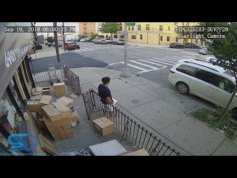 UNV IP Camera Demo Stream