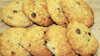 Овсяное Печенье с Изюмом самое вкусное