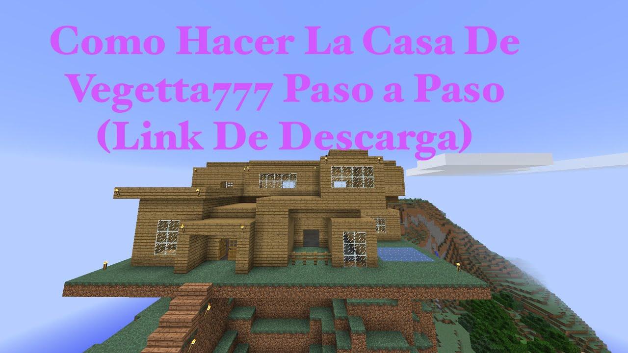 Como hacer la casa de vegetta777 paso a paso pt3 link for Cosas decorativas para la casa