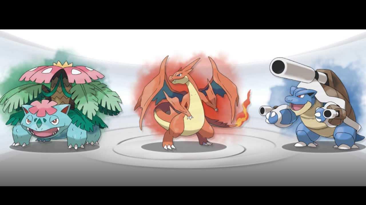 pokemon kanto starters mega - photo #10