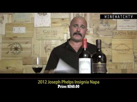What I Drank Yesterday  Joseph Phelps Insignia and Daou Vineyards - click image for video