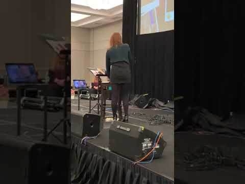 Rebecca Mader sings Wicked Always Wins before leaving OUATBUR