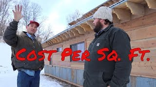 Cost Per Square Foot To Build A House, Insight From Red Poppy Ranch