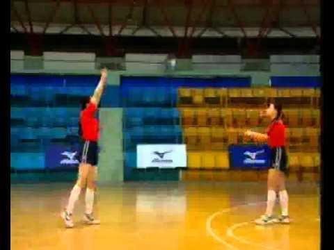 Bài tập chuyền bóng cao tay