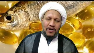 حكم تناول كبسولات زيت السمك .. حسب رأي السيد علي السيستاني دام ظله