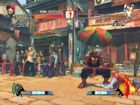 Street Fighter 4 IV PC Gameplay video with Shin Akuma |