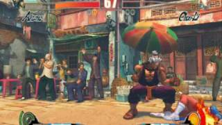Street Fighter 4 IV PC Gameplay video with Shin Akuma