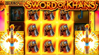 Sword of Khans free spins compilation!