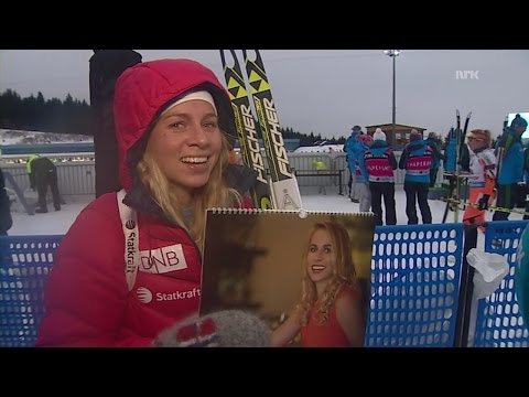 Interview with Tiril Eckhoff after sprint in Oberhof