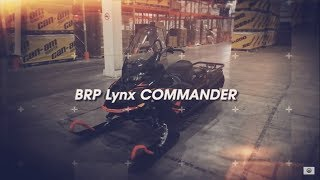 Обзор снегохода BRP Lynx COMMANDER 2020