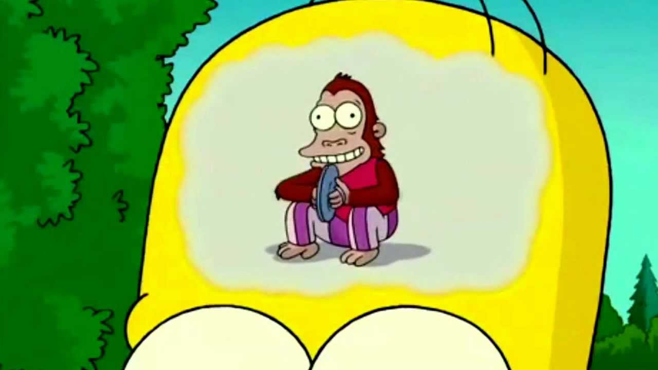 Homers Trail Of Thought 10 Minutes Mose Mai Monkey Youtube