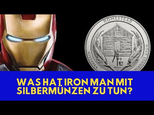 Silber kaufen - Was hat Iron Man mit Silbermünzen zu tun?