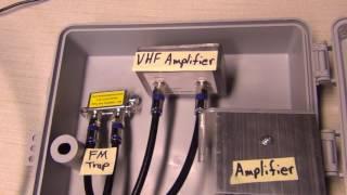 Resolved TV (OTA) interfering noise problem; KT-500 and KT-200 amplifiers; ZUVSJ Combiner
