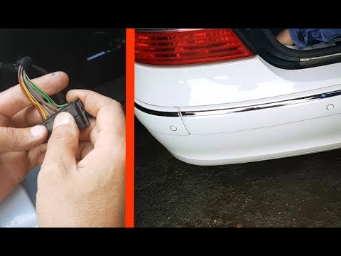 False positives of parking sensors on the Mercedes W211,W219  Correction /  Malfunctions parktronic