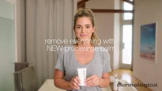 How to avoid getting makeup on your towel - Dermalogica
