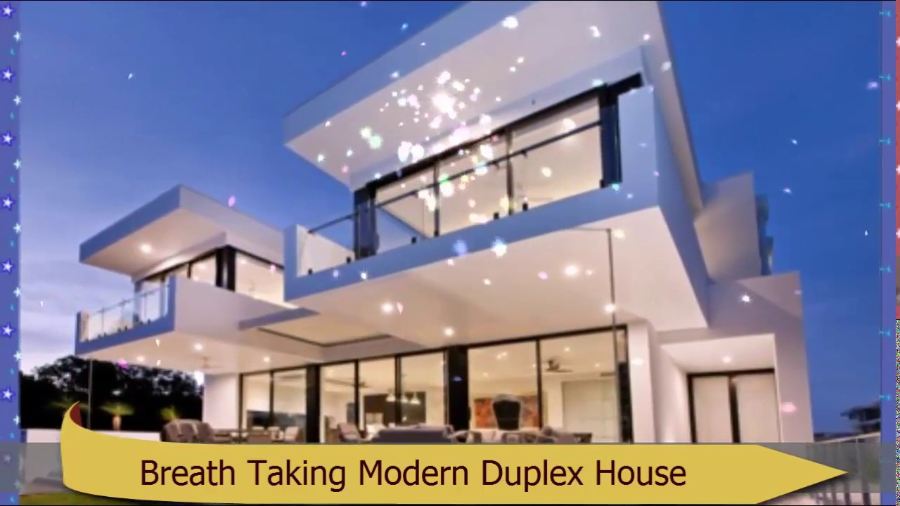 Breath taking modern duplex house design that you must want to build