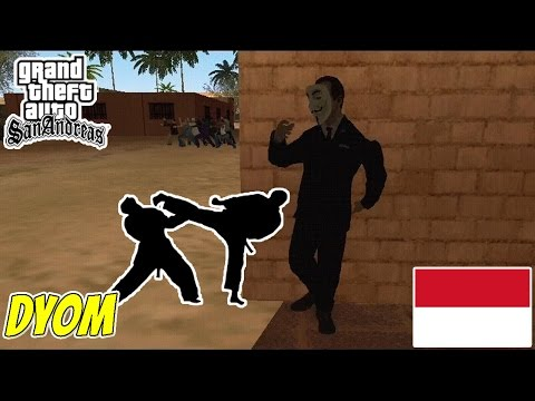 BELAJAR PENCAK SILAT ! DYOM GTA Extreme Indonesia