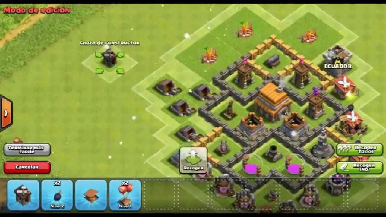 dise o de aldea defensiva th5 ayuntamiento 5 clash of