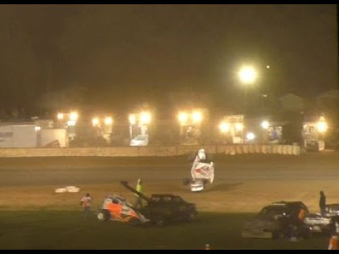 Plymouth Dirt Track IRA 410 Sprints Feature 9-28-2019